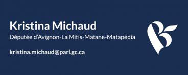 Kristina Michaud, Député d'Avignon-La Mitis-Matane-Matapédia